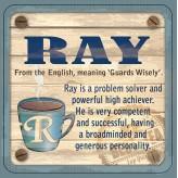Ray - Cuppa Coaster