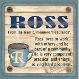 Ross - Cuppa Coaster
