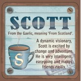 Scott - Cuppa Coaster