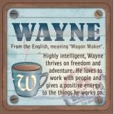Wayne - Cuppa Coaster
