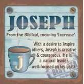 Joseph - Cuppa Coaster