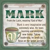 Mark - Cuppa Coaster