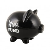 Wine Fund - Pig Money Bank