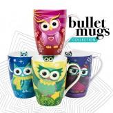 Owl Mania Mugs - Asst