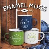 Man Mug - Enamel Mug