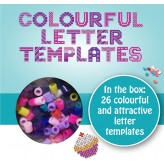 26 Letter Templates - Name Beads