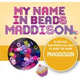 Maddison - Name Beads