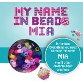 Mia - Name Beads