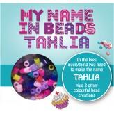 Tahlia - Name Beads