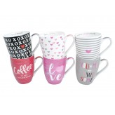Valentines Day Mugs - Asst