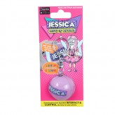 Jessica - Magic Name Keyring