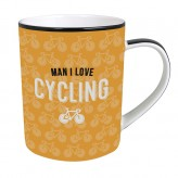 Cycling - Man I Love Mug
