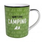 Camping - Man I Love Mug