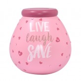Live Laugh Save - Pot of Dreams 50908