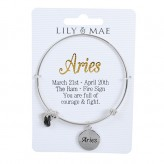 Aries - Personalised Bangle