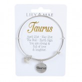 Taurus - Personalised Bangle