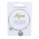 Alyssa - Personalised Bangle