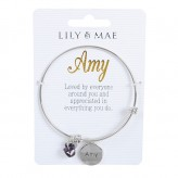 Amy - Personalised Bangle
