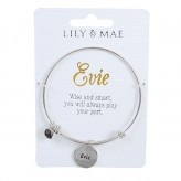 Evie - Personalised Bangle