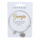 Georgia - Personalised Bangle