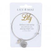 Lily - Personalised Bangle