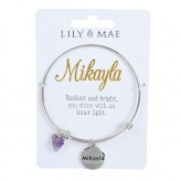 Mikayla - Personalised Bangle