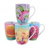 Bush Blooms Mugs - Asst