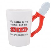 My Shed/Pliers Man Mug