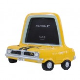 Yellow Car Photo Frame 5 x 3.5 inch