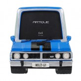 Blue Car Photo Frame 6 x 4 inch