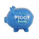 My First Piggy Bank(Blue)-Pig Money Bank
