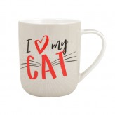 I Heart My Cat - Paw Pals Mug