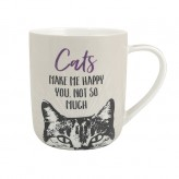 Cats Make Me Happy - Paw Pals Mug