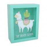 Llama - Money Box Green
