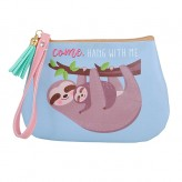 Sloth - Purse Blue