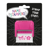 Name Stamper - Flowers and Butterflies